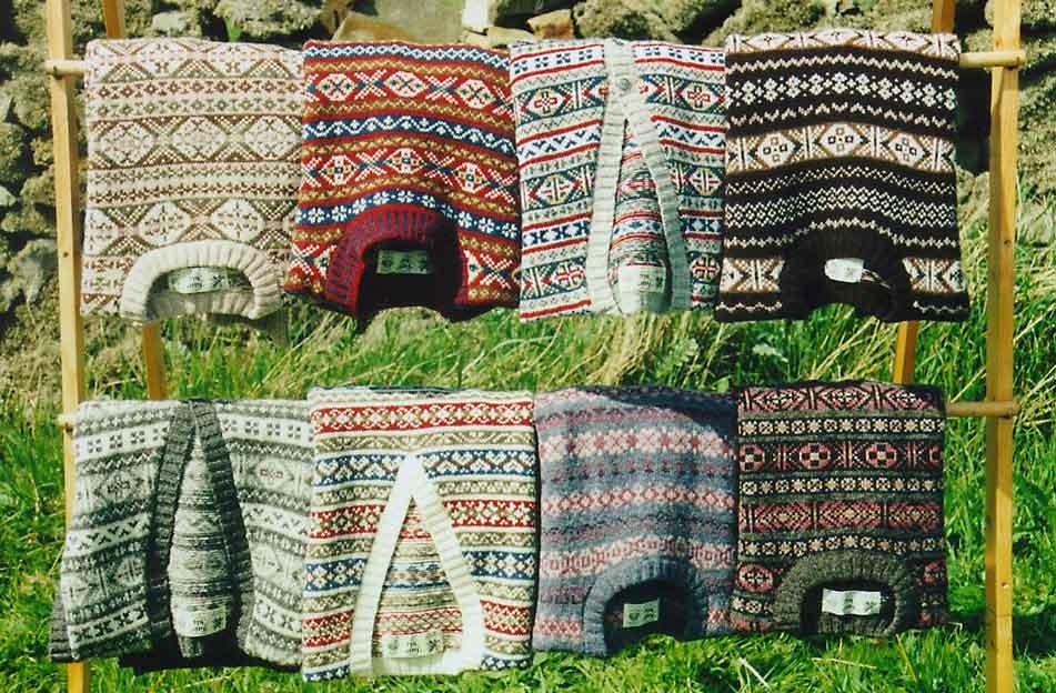 Вязание шотландскими узорами